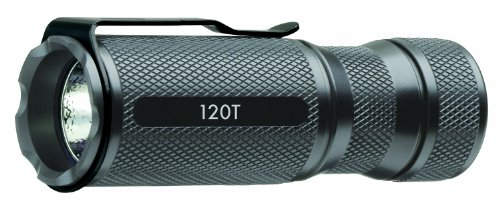 NovaTac 120T Tactical LED Flashlight, Gun Metal by NovaTac