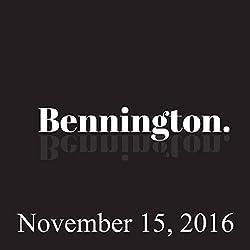Bennington, November 15, 2016