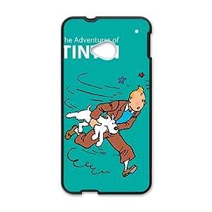HTC One M7 Cell Phone Case Black TinTin cartoon Jujt