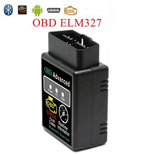 Outzone Auto OBDII OBD2 Scanner Bluetooth Diagnostic OBDII Reader with  ELM327 V15 Automotive Diagnostic Scanner Car Engine Co