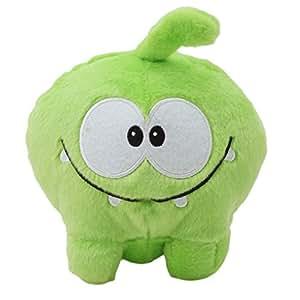 sourban Kid 's juguete de peluche verde forma de rana muñeca