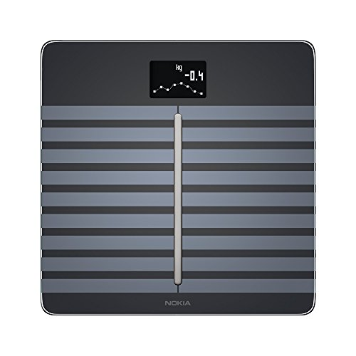 Nokia Body Cardio – Heart Health & Body Composition Wi-Fi Scale, Black by Nokia health