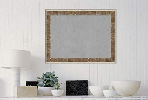 Amanti Art Farmhouse Brown Narrow Framed Magnetic Boards, 33 x 25, by Amanti Art (Image #3)