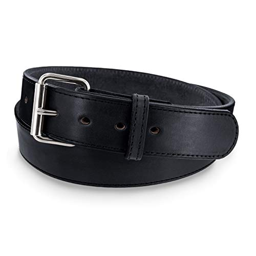 Hanks Extreme- Leather Gun Belt for CCW- Concealed Carry- 1.75