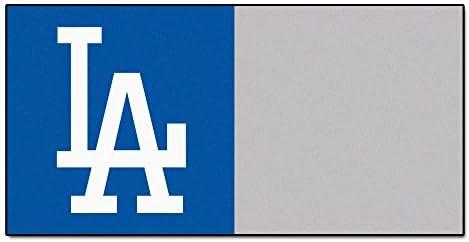 Fanmats Logo Carpet Tiles – Los Angeles Dodgers