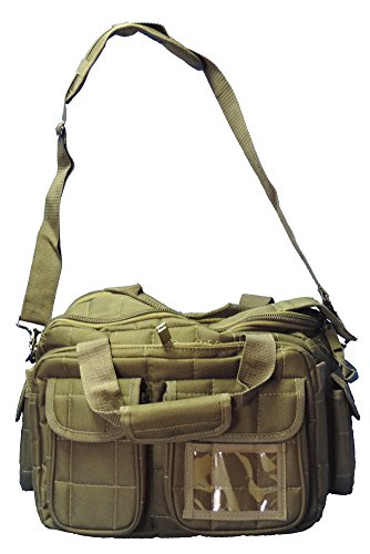 Explorer Tactical Heavy Duty Gun Bag Officer Tactical Range Bag for Gun Pistol Shooting Ammo Accessories