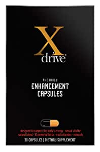 Dream Brands Xdrive Enhancement Supplement, 30 Count
