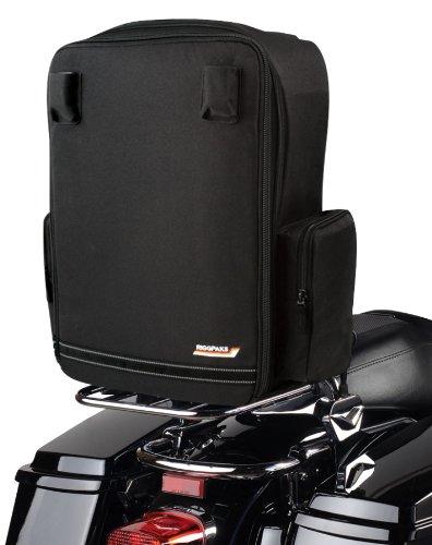 Nelson-Rigg CTB-650 RiggPak Black Solo Tourer Luggage/Seat Bag