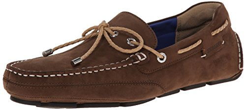 Kedge Loafer on Tie Nubuck Brown Sebago Slip Men's pXqwn5f