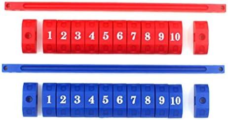 LIOOBO Unidad de puntuación de 2 Piezas Unidad de puntuación de ...