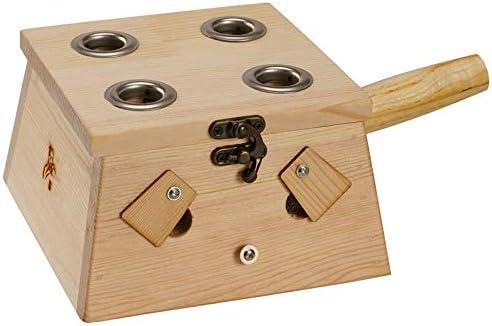 Caja de madera sólida moxibustión moxibustión caja for mecanismos de madera Moxa quemador acupuntura masaje en los puntos de calidad superior (Color : D): Amazon.es: Salud y cuidado personal