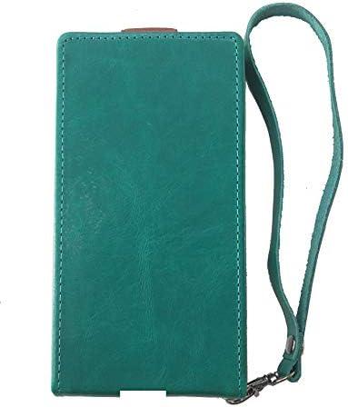 カスタマイズ USB 充電口 穴開け iPhone SE 2 (第2世代) 本革 (牛革) スマホ ケース 手帳型 カバー 【ハンドメイド 受注生産】 (縦 開き) ブックタイプ マグネット かっこいい かわいい 柔らかい 手触りバツグン 水色 青色