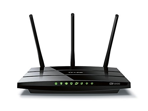TP-Link Archer C1200 Dual Band Wireless AC1200 Gigabit Router, 2.4GHz 300Mbps with 5GHz 867Mbps, 1 USB (Best Wireless Routers Dual Bands)