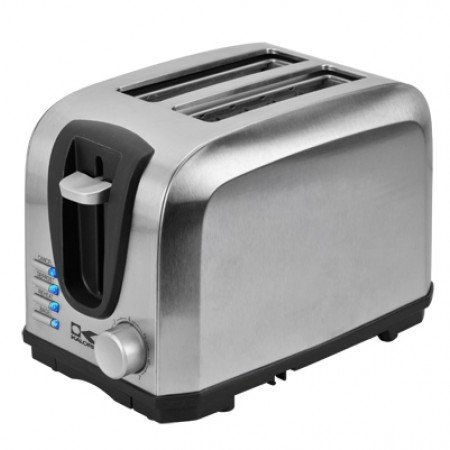 Kalorik Stainless Steel 2 Slice Toaster- LED Light Indicator Multi Functional Toaster with 7 Level Adjustable Browning Controls- 700 - Paragon Stores Outlets At