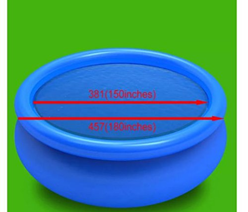 ComfyLeads Floating Round PE Solar Pool Lightweight and Easy to Install and Maintain