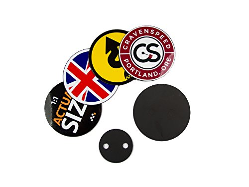 Grille Badge Holder Starter Kit for MINI Cooper   MINI Countryman   MINI Coupe   MINI Roadster   MINI Paceman   Comes with 4 Magnetic -