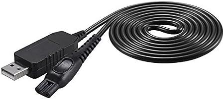 SoulBay DC 5V a 15V Cable de alimentación USB para afeitadora ...