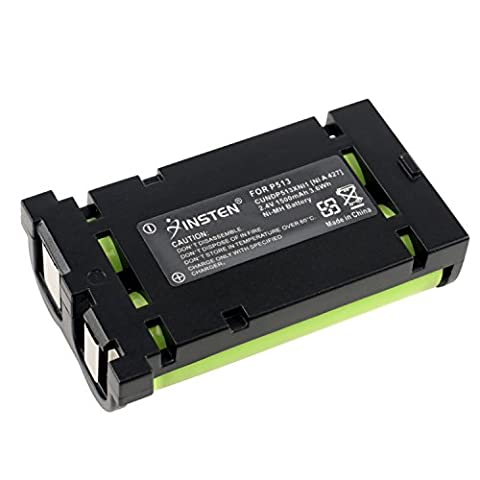 Insten 2.4V NI-MH Battery 1500mAh Rechargeable Cordless Home Phone Battery Pack for Uniden UND P513 (Professional Auger)