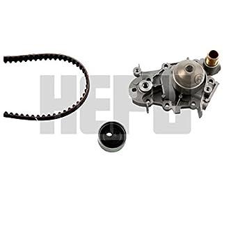 Hepu PK09160 Bomba de agua + kit correa distribución: Amazon.es: Coche y moto