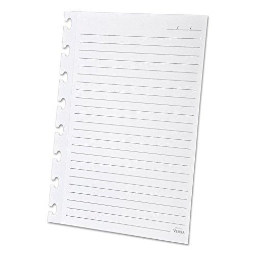 Ampad 25621 Versa Refill Paper, Wide Rule, 5