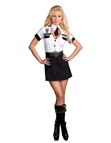 Strip Search Officer Tara U Clothes Off Adult Costume - Plus Size 1X/2X