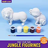 Made By Me Jungle Figurines 2 Resin Paintables by
