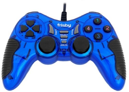 Frisby FGP-225U Dual Action PS3 Playstation3 and Notebook Desktop PC Laptop USB Dual Gamepad Game Controller