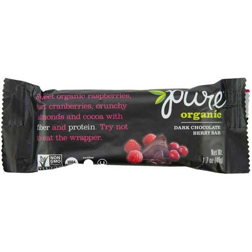 Kashi Pure Organic Fruit and Nut Dark Chocolate Berry Fruit and Nut Bar, 1.7 Ounce -- 144 per case. by Kashi (Image #5)