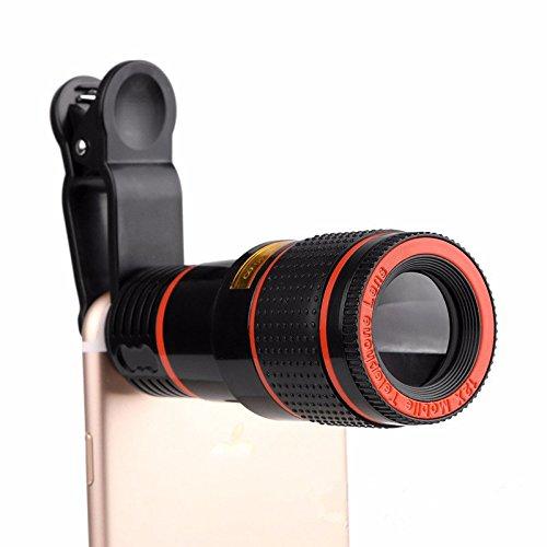 Bainuojia - Objetivo para teléfono móvil, 8X Telekamera Mobile ...
