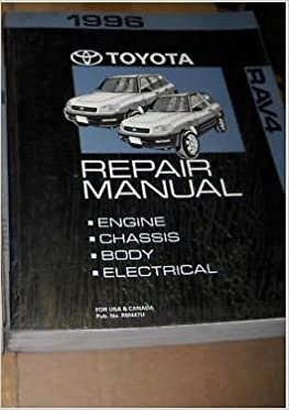 1996 toyota rav4 rav 4 electrical wiring diagram troubleshooting manual  ewd: toyota: amazon com: books