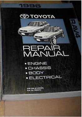 Phenomenal 1996 Toyota Rav4 Rav 4 Electrical Wiring Diagram Troubleshooting Wiring 101 Photwellnesstrialsorg