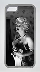 Diylovelycase Iphone 5C Case Soft Material TPU Marilyn Monroe MM016 Iphone 5c Cases