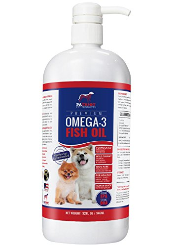 how to stop dog shedding with omega oils