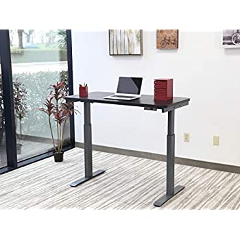 Amazon Com Motionwise Sdg48b Electric Standing Desk 24 X48 Home