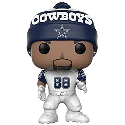 Funko POP NFL: Dez Bryant (Cowboys Color Rush) Collectible Figure: Funko Pop! Sports:: Toys & Games