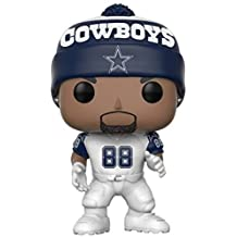 Funko POP NFL: Dez Bryant (Cowboys Color Rush) Collectible Figure, 3.75 inches