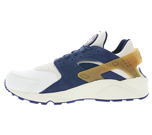 Nike Air Huarache Run Prm, Zapatillas de running  hombre Varios Colores (Sail / Midnight Navy-Ale Brown-Pearl Pink)
