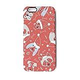 Orange Dogs in Santa hat iPhone 7 Plus&iPhone 8 Plus Case,TPU&PC Slim Fit