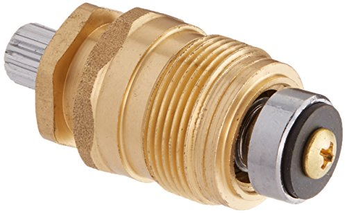 DANCO Reduced-lead, Durable Brass Hot Water Stem for Eljer Faucets, 4C-2H, 1-Set (15786E)