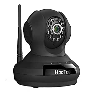 HooToo Security Camera with HD Video Streaming, Surveillance WiFi IP Camera, Baby / Nanny / Pet Monitor, PIR Night Vision Mode; Easy Setup, Support iOS / Android / Windows Devices