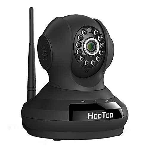 HooToo Security Camera with HD Video Streaming, Surveillance WiFi