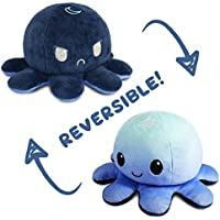 The Original Reversible Octopus Plushie | TeeTurtle's Patented Design | Day and Night | Show Your Mood Without Saying a…