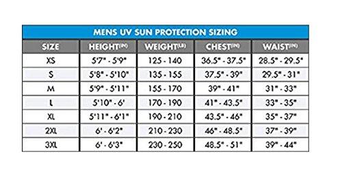 O'Neill Men's UV Sun Protection Hybrid Rash Tee, X-Large, Black Hybrid