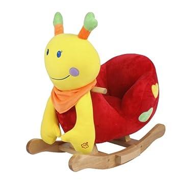 baby animal rocking chair emily ladybug new amazon co uk toys