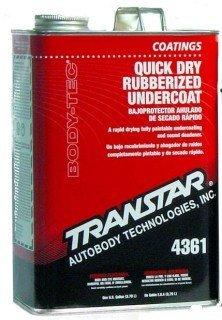 Transtar Quick Dry Rubberized Undercoating, Gallon 4361-F by TRANSTAR