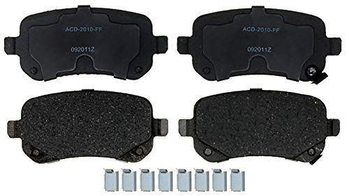 ACDelco 14D1326CHF1 Advantage Ceramic Rear Disc Brake Pad Set