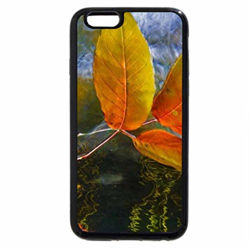 iPhone 6S Case, iPhone 6 Case (Black & White) - FLOATING DOWNSTREAM