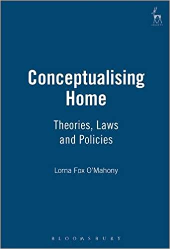 Book Conceptualising Home: Theories, Law and Policies