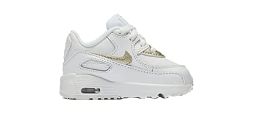 2667d56afe ... coupon code for nike air max 90 ltr summit white metallic gold star  toddler 7 31169