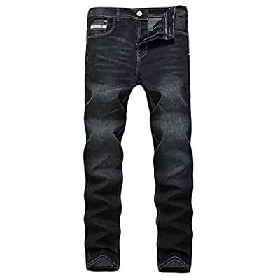 Cheap ONTBYB Men's Skinny Slim Fit Stretch Straight Leg Elasticity Jeans Pants supplier